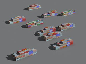 container lo 3D model