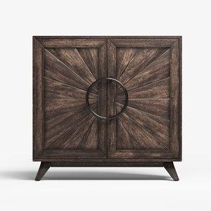 3D model door cabinet