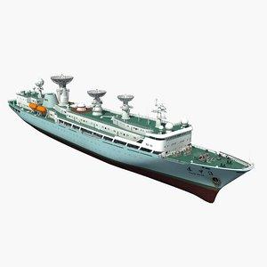 3D survey ship