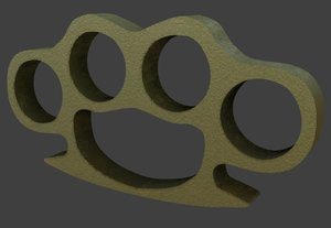 brass knuckles model