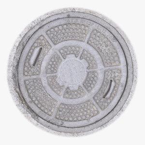 manhole 04 model