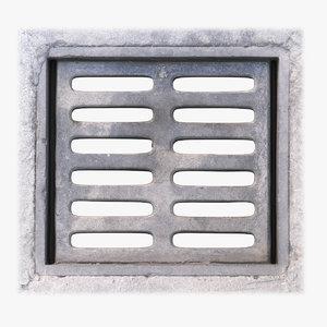 3D manhole 05