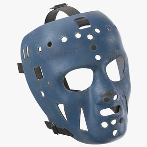 jim rutherford mask - 3D
