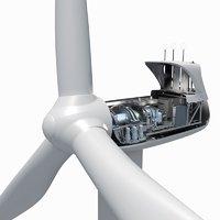 3D wind turbine drives generally model