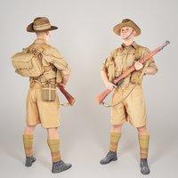 Australian infantryman character from World War 2 39