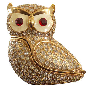 3D owl diamonds toy