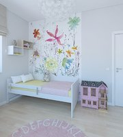 Cozy playful girls room