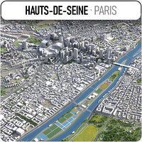 hauts-de-seine - grand paris model