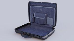 neat briefcase details 3D model
