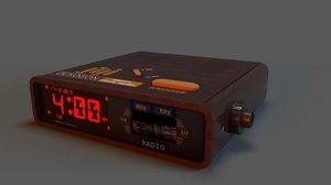 clock radio model