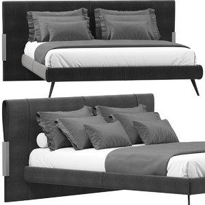 jesse quincy bed 3D model