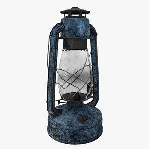 kerosene lamp 3D model