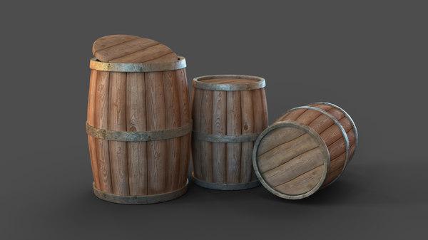 3D barrel old model