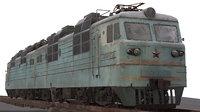 Soviet locomotive VL80