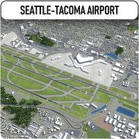 seattle-tacoma international airport - model