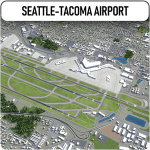 seattle-tacoma international airport - model