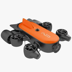 underwater drone geneinno 3D model