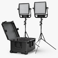 LitePanels Astra 6X 1x1 LED Duo Traveler Kit