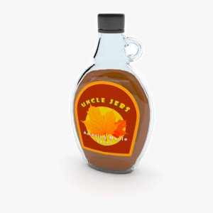 maple syrup 3D model