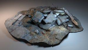 3D rubble junk