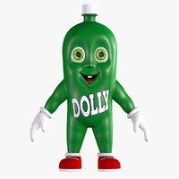 Cartoon Soda Dollynho Bottle