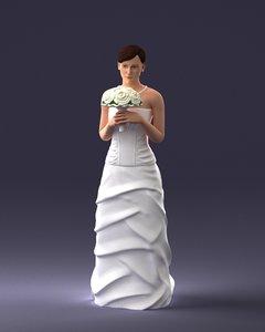 3D bride model