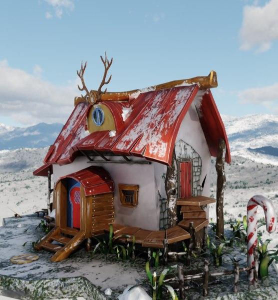 3D santa s model
