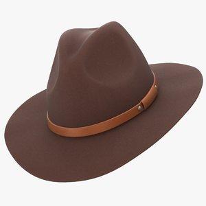 3D realistic felt hunting hat