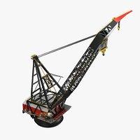 vessel crane 3D model