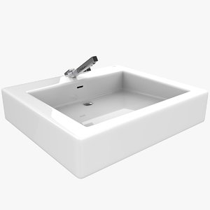 bathroom sink 3D