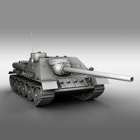3D su-100 - soviet tank