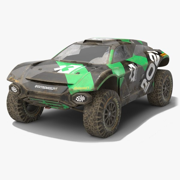 3D dirty extreme e odyssey model