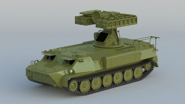 3D 9k35 strela-10 sa-13 gopher