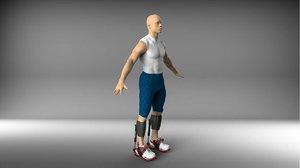 3D hopper - running assistant