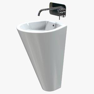 3D column sink model
