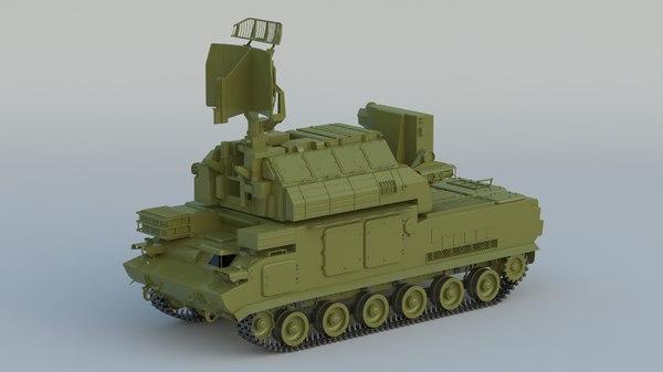 tor 9k330 sa-15 gauntlet 3D model