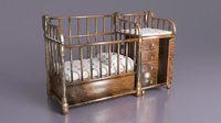 3D baby bed 2 model