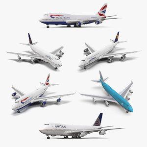 3D boeing 747
