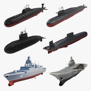 russian military vessels russia model