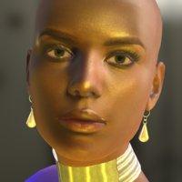 eliza bijou fashion 3D model