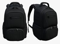Backpack Camping Black Generic military human