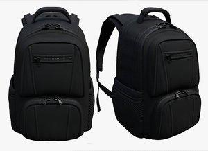 3D model luggage fashion bag