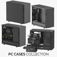 3D model pc cases