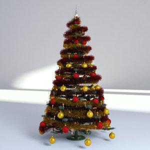 3D christmas holidays