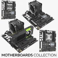 motherboards games 3D model