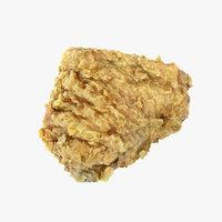 friedchicken chicken fried 3D