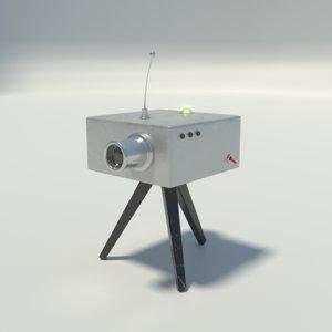 radar camera model