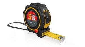meter tape measure model