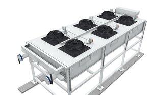 3D radiator chiller