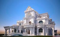 classic Masonry  Mansion villa